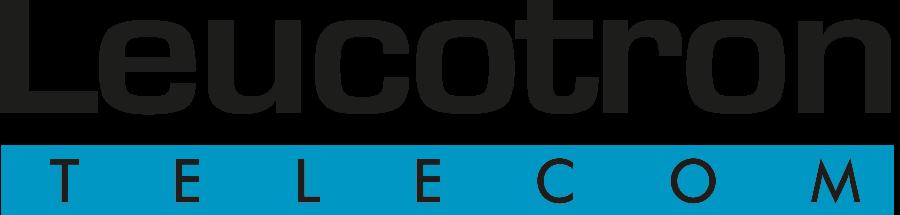 Logo da Leucotron Telecom.