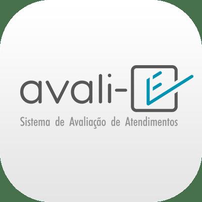 Logotipo do Sistema de Avaliação de Atendimentos Avali-E da Leucotron
