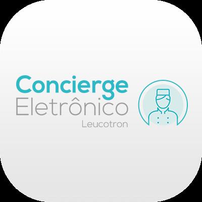 Logotipo do Concierge Eletrônico da Leucotron