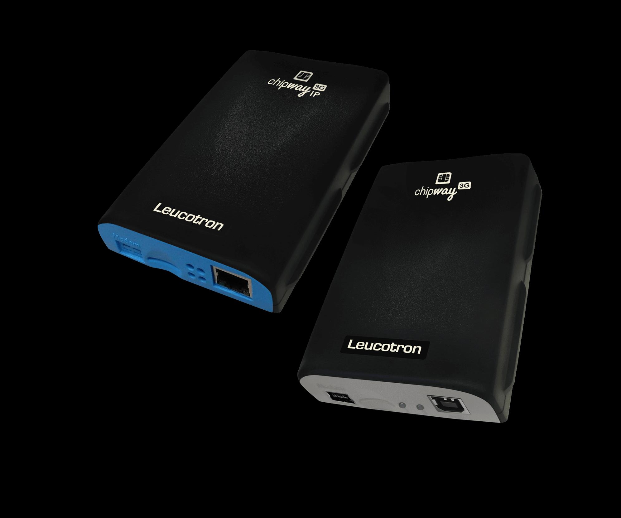 Imagem das duas interfaces celulares, ChipWay 2G e ChipWay 3G.