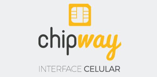 Logo da Interface Celular ChipWay da Leucotron.