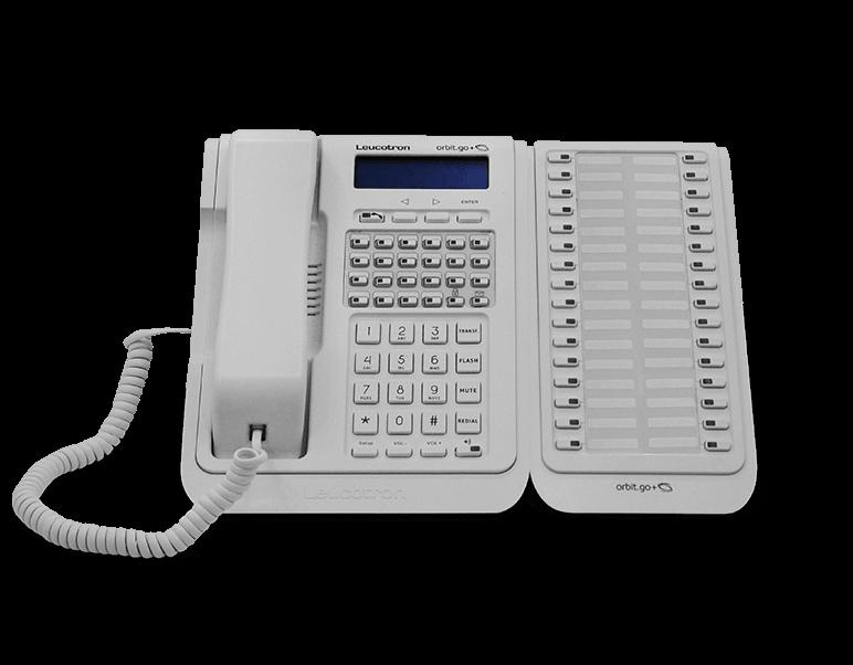 Imagem do terminal telefônico Orbit.go+.