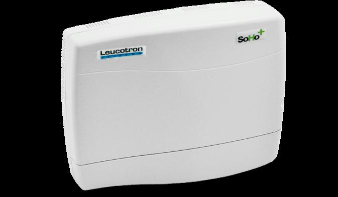 Imagem lateral do Micro PABX SoHo+.