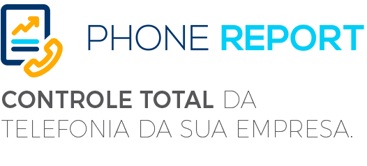 Logo do Phone Report da Leucotron.