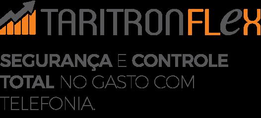 Logo do Tarifador de Ligações Taritron Flex da Leucotron.