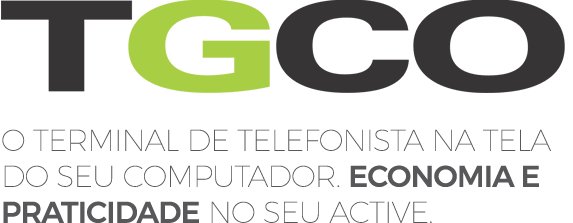 Logo do Terminal Virtual TGCO da Leucotron.